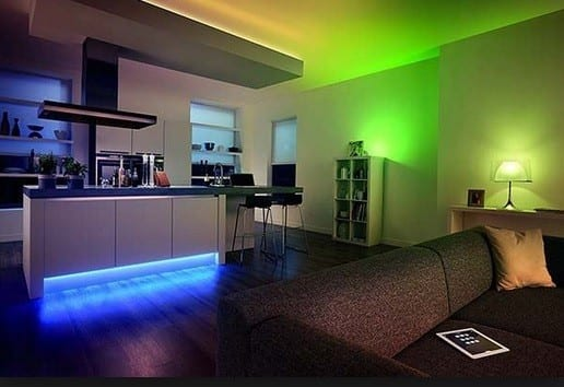 Led Ruban ESEYE RGB+W salon